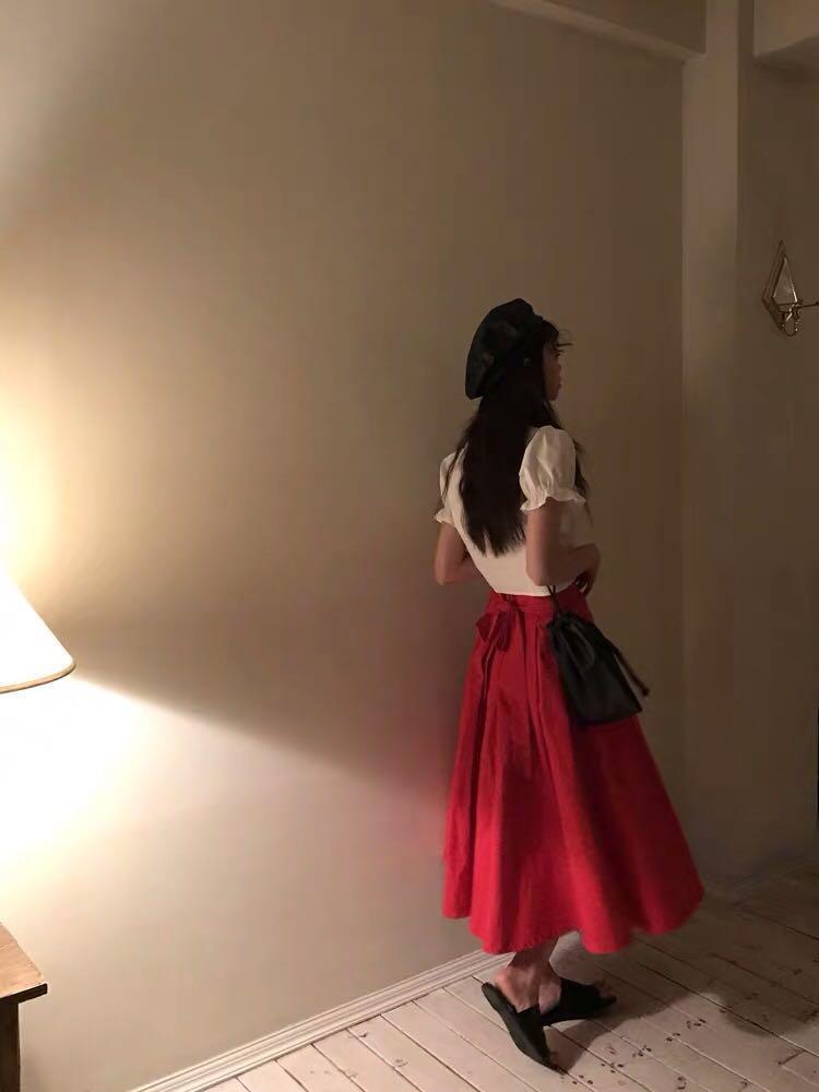 街拍顯瘦長裙