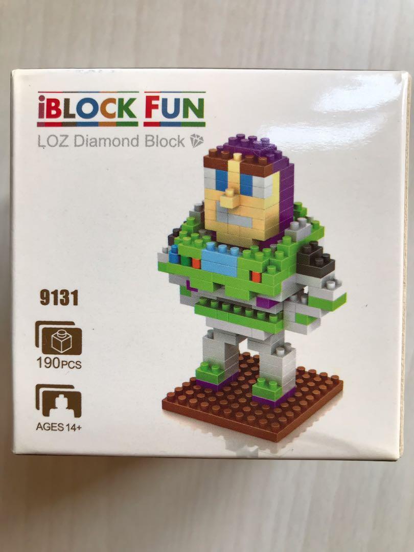 [全新] 巴斯光年 Diamond Block