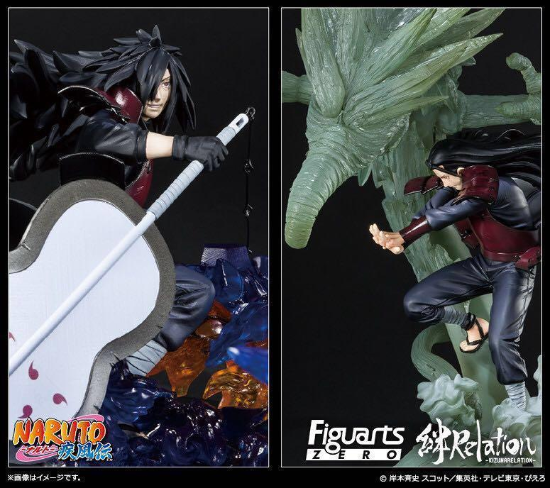 火影忍者 Figuarts zero 絆relation 千手柱間&內輪摩駄羅/宇智波斑 Naruto FZ