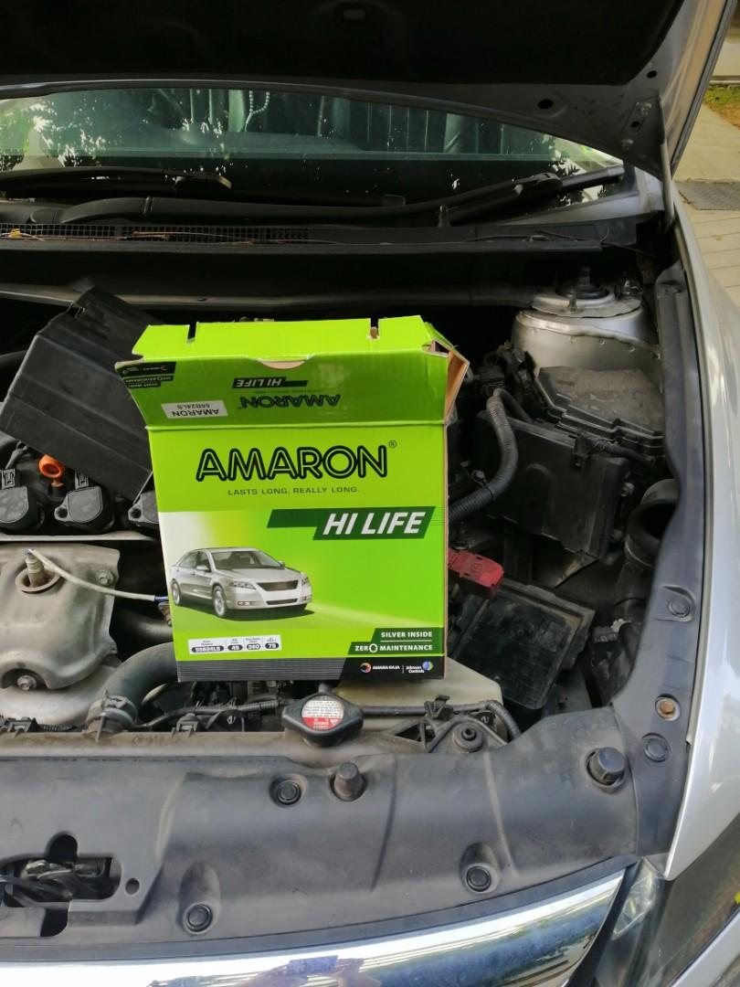 $75 -For a limited time only – long lasting Amaron Batteries for a small price!