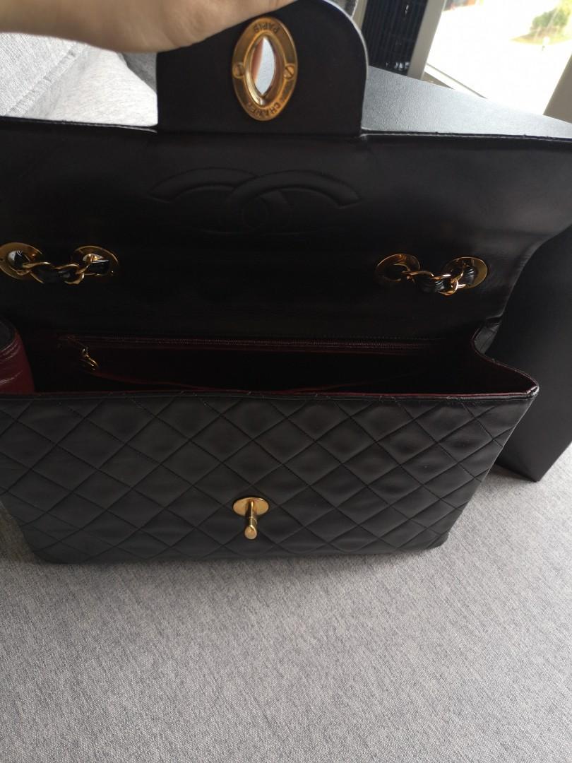 Authentic Chanel Jumbo XL Flap