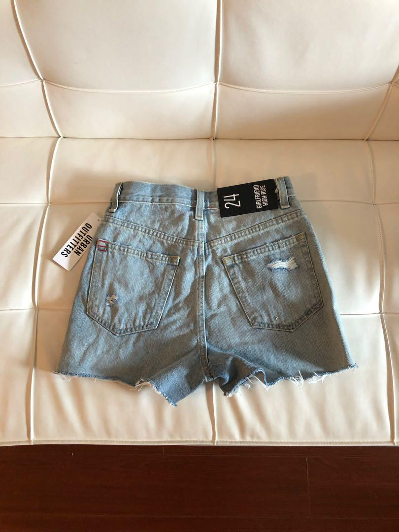 BNWT BDG High Rise Girlfriend Shorts from Urban Outfitters