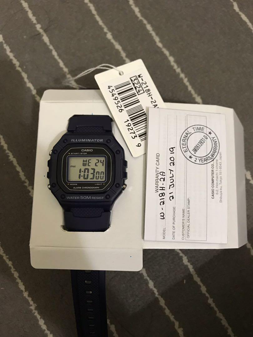 Casio original series youth digital (unisex)
