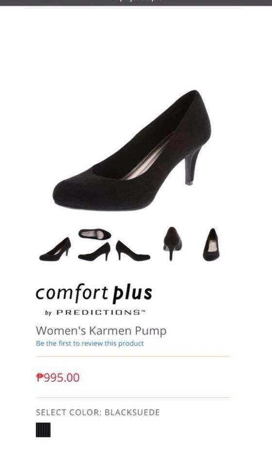 f9abf289530 Comfort Plus by Predictions (Payless) Black Heels, Women's Fashion ...