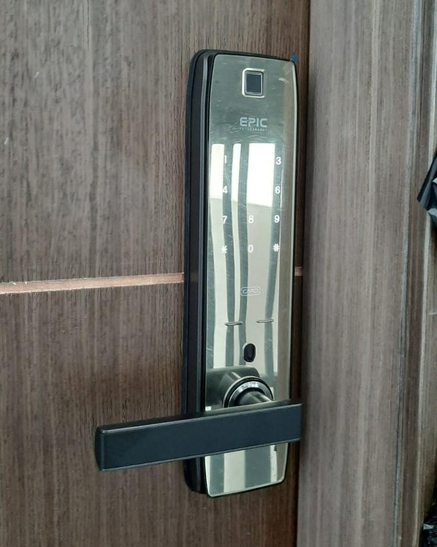 Epic Mortise Digital lock Sales (Bluetooth / Wi-Fi)  $549 HP 90677990