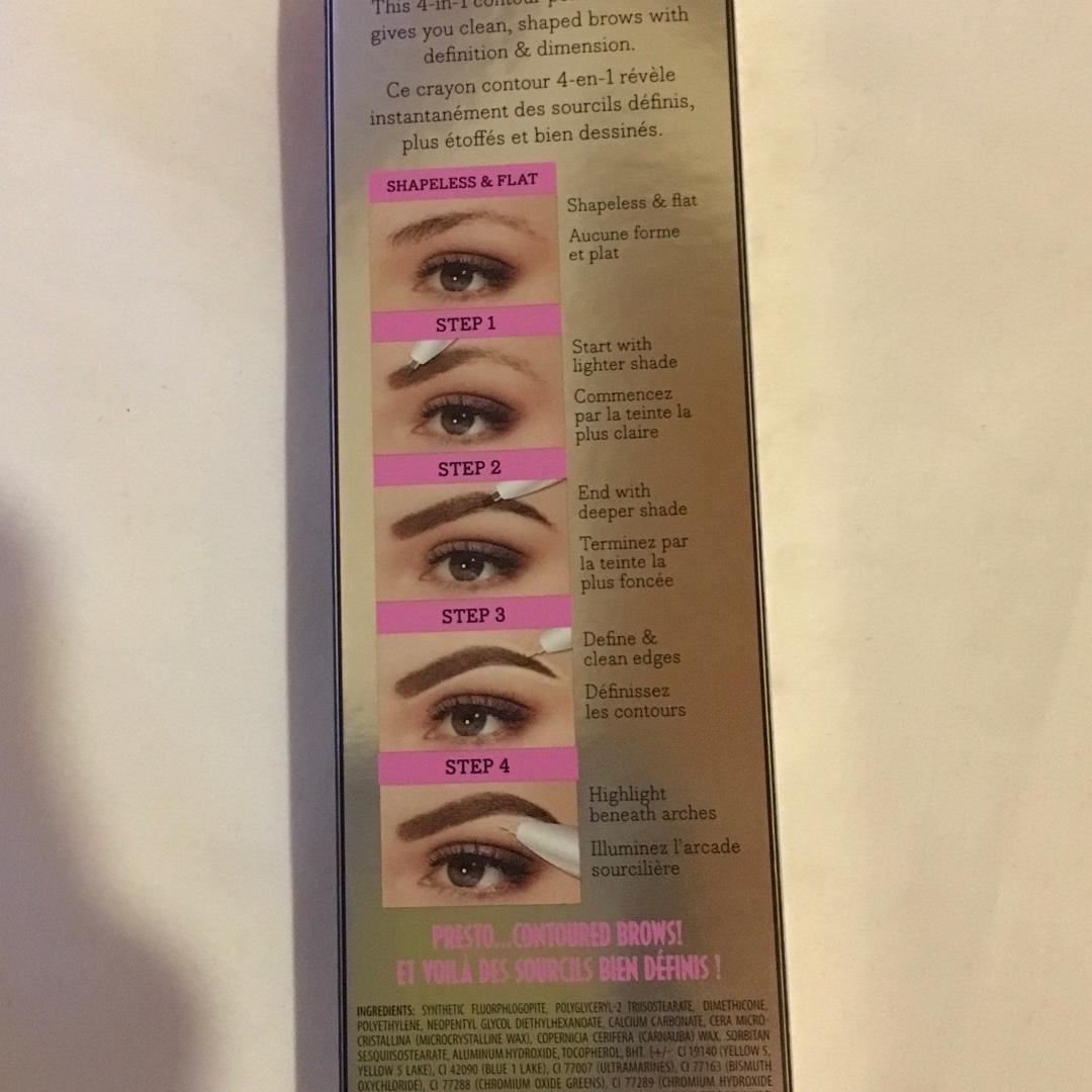 FREE POST Benefit brow contour pro 4 in 1 contour pencil