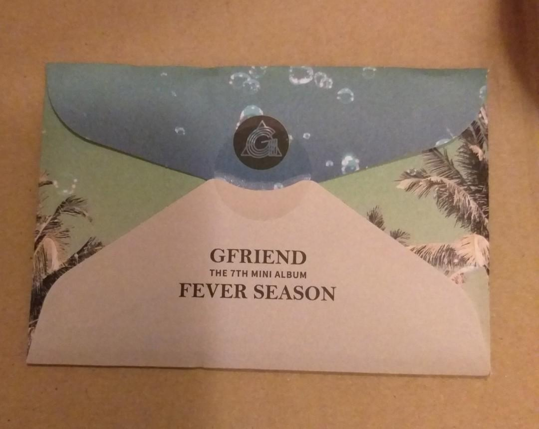Gfriend - Fever Season Preorder Benefit Photocard Set