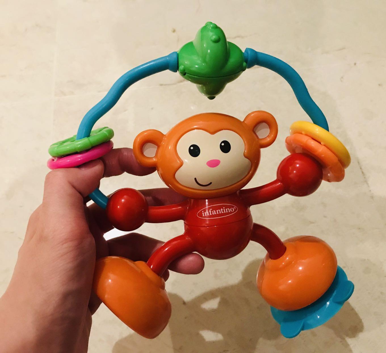Silla alta Infantino Stick and Spin