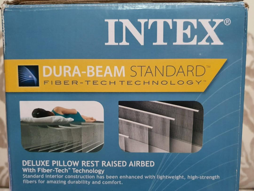 Dura-Beam Standard Deluxe Pillow Rest Raised Airbed