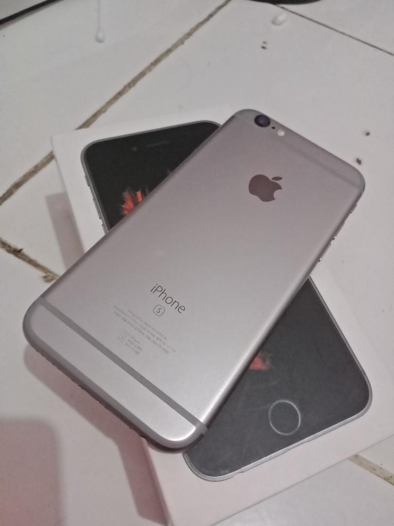 IPhone 6s 32gb fullset mulus