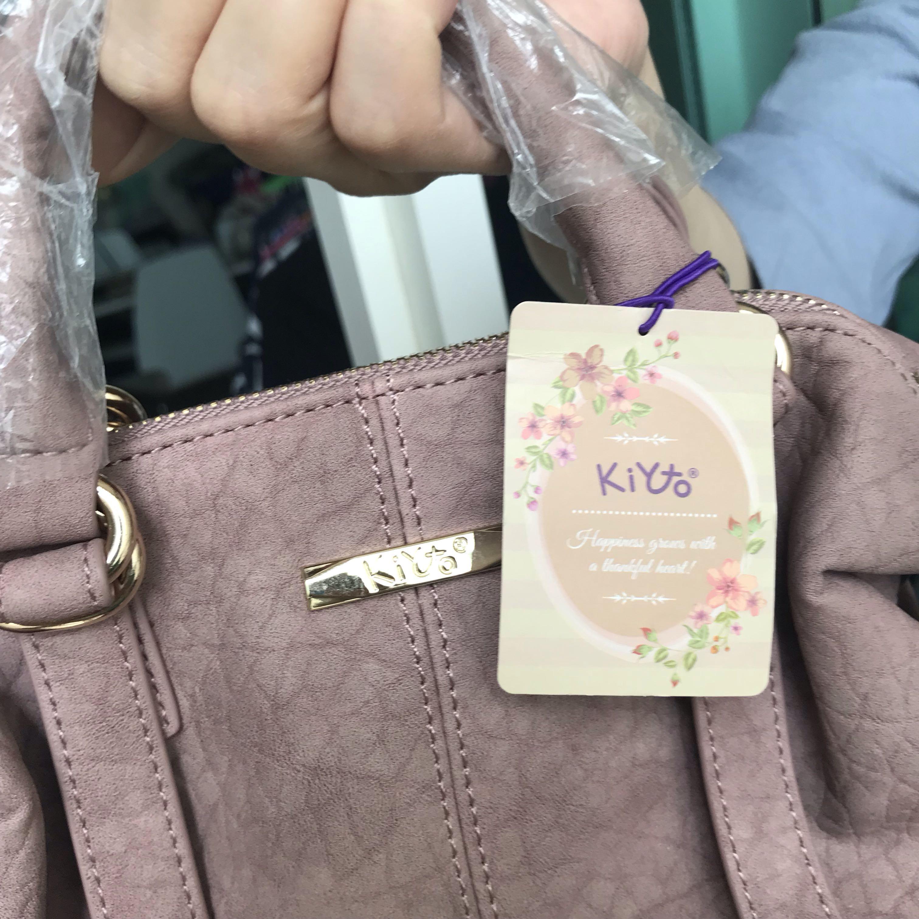 KIKO 🇯🇵 日系 a.n.s 高雅脫俗 粉紅 手挽斜咩袋