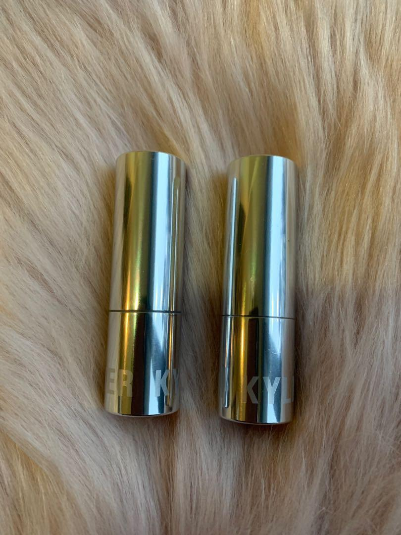 Kylie cosmetics Nude cream lipsticks - Dulce de Lece & Mont blank
