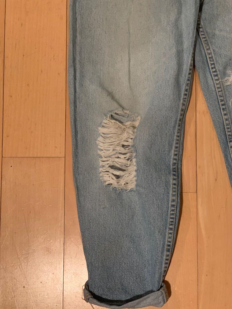 Levi's 550 relaxed fit tapered leg