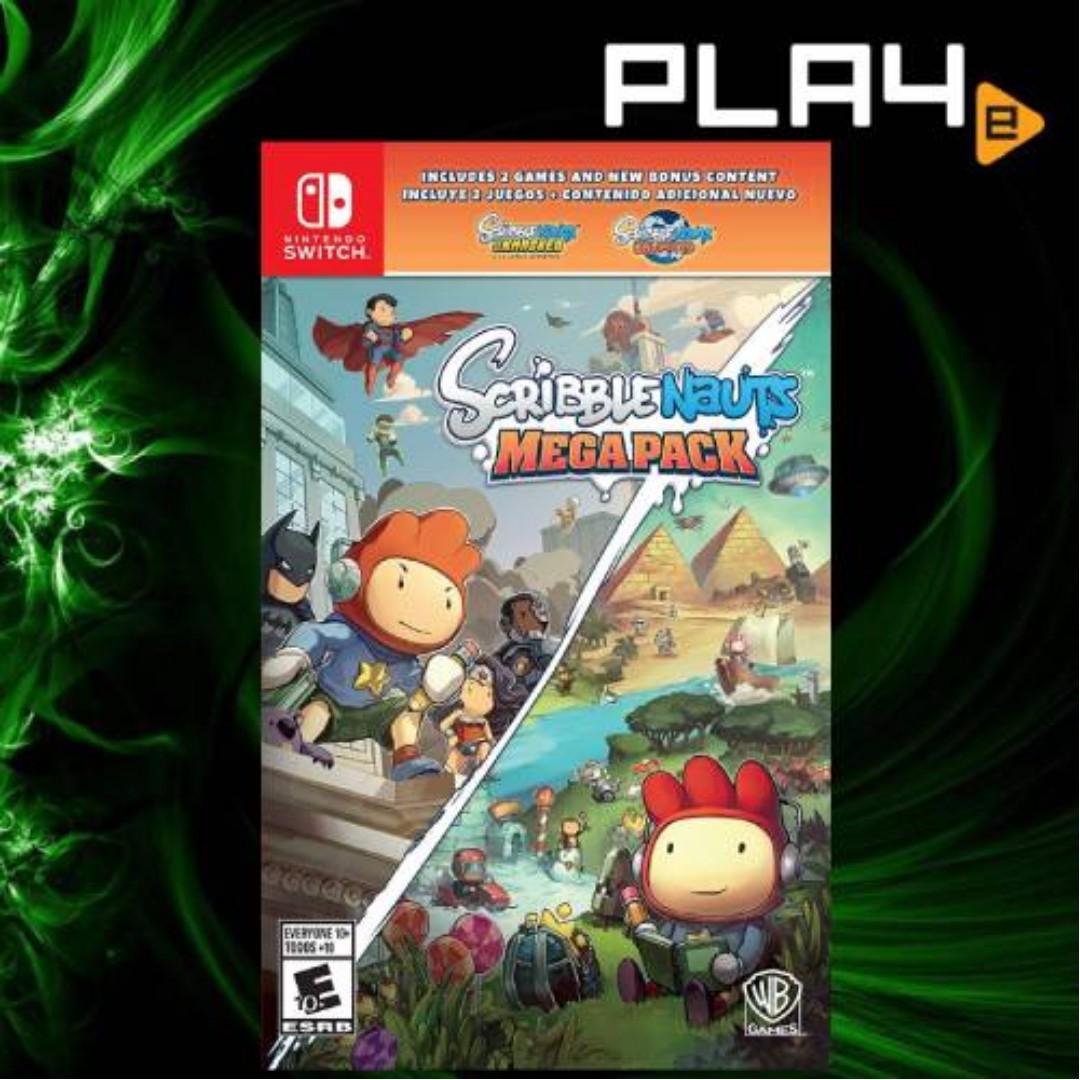 Nintendo Switch Scribblenauts Mega Pack (R1) Brand New