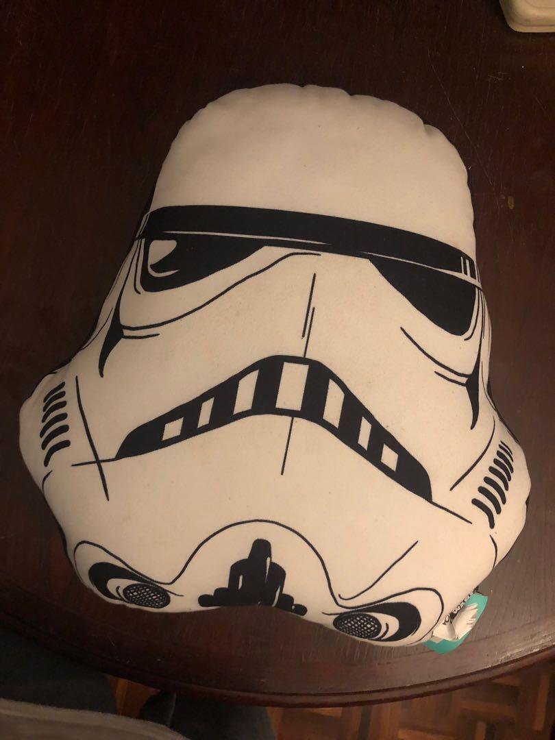 Original Typo Star Wars Merchandise Pillow