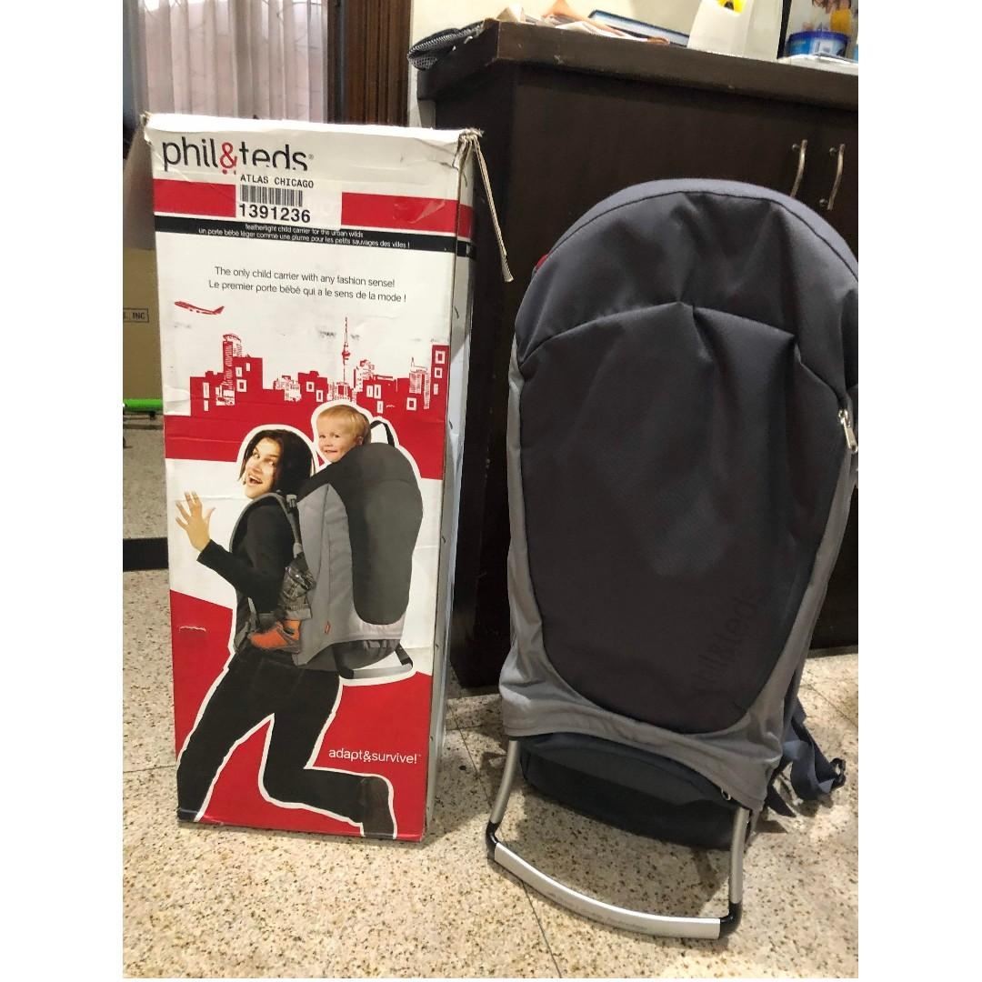 Phil And Teds Escape Child Carrier On Carousell