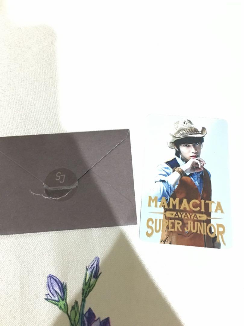[QYOP] Super Junior Mamacita Photocard