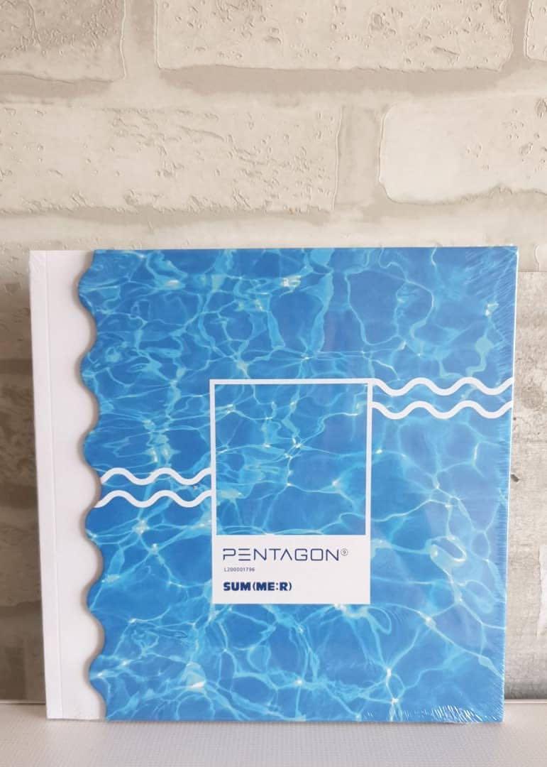 [Ready Stock] PENTAGON - Mini Album Vol.9 [SUM(ME:R)]