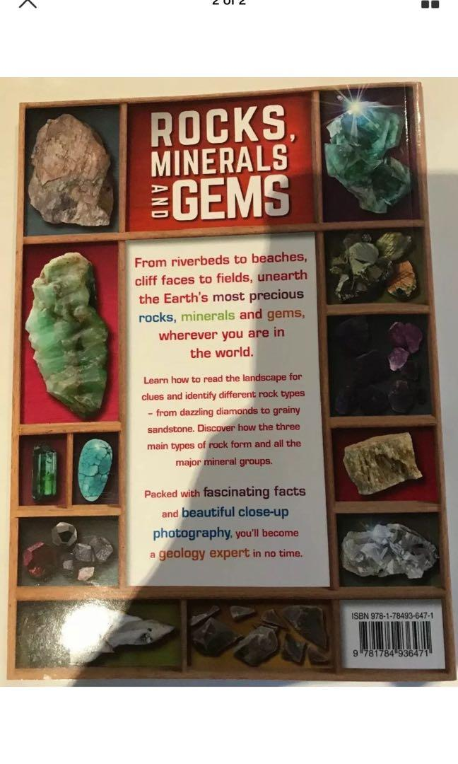 Rocks, Minerals and Gems by John Farndon (English) Hardcover Book Free Shipping!