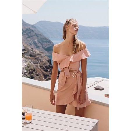 SABO SKIRT | luxe. blush top & skirt set | size xs