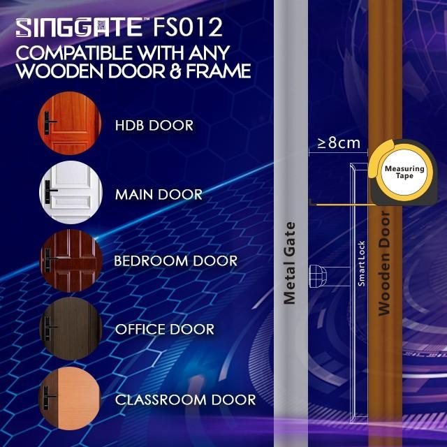 🔥🔥$109 installation only!🔥🔥 SINGGATE™ FS012 Digital Door Lock