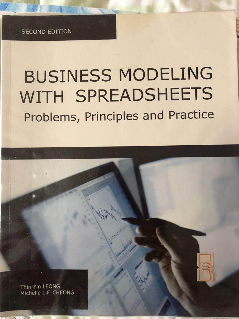 Smu Cat Textbook Business Modelling With Spreadsheets