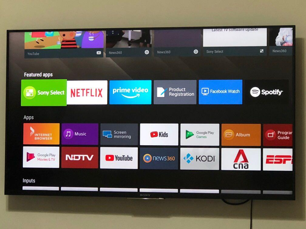 Sony Bravia Full HD Android TV 49 Inches, Home Appliances