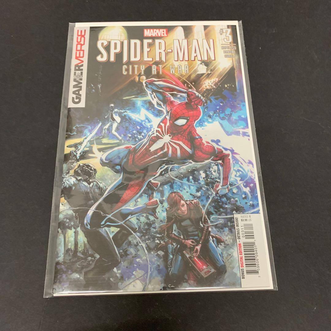 Spider-Man City at War #2 Marvel VF//NM Comics Book