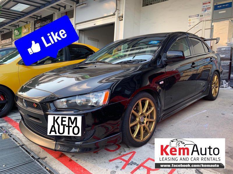 Sporty Honda Civic Integra Mitsubishi Lancer EX CS3 Colt Turbo Volkswagen Jetta Bmw 320i 520i