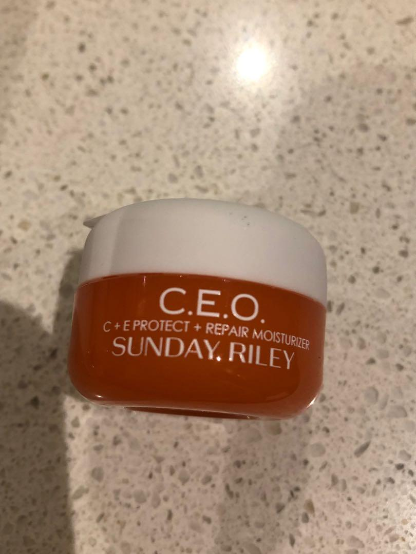 Sunday Riley C. E. O. Antioxidant Protect & Repair Moisturiser - New