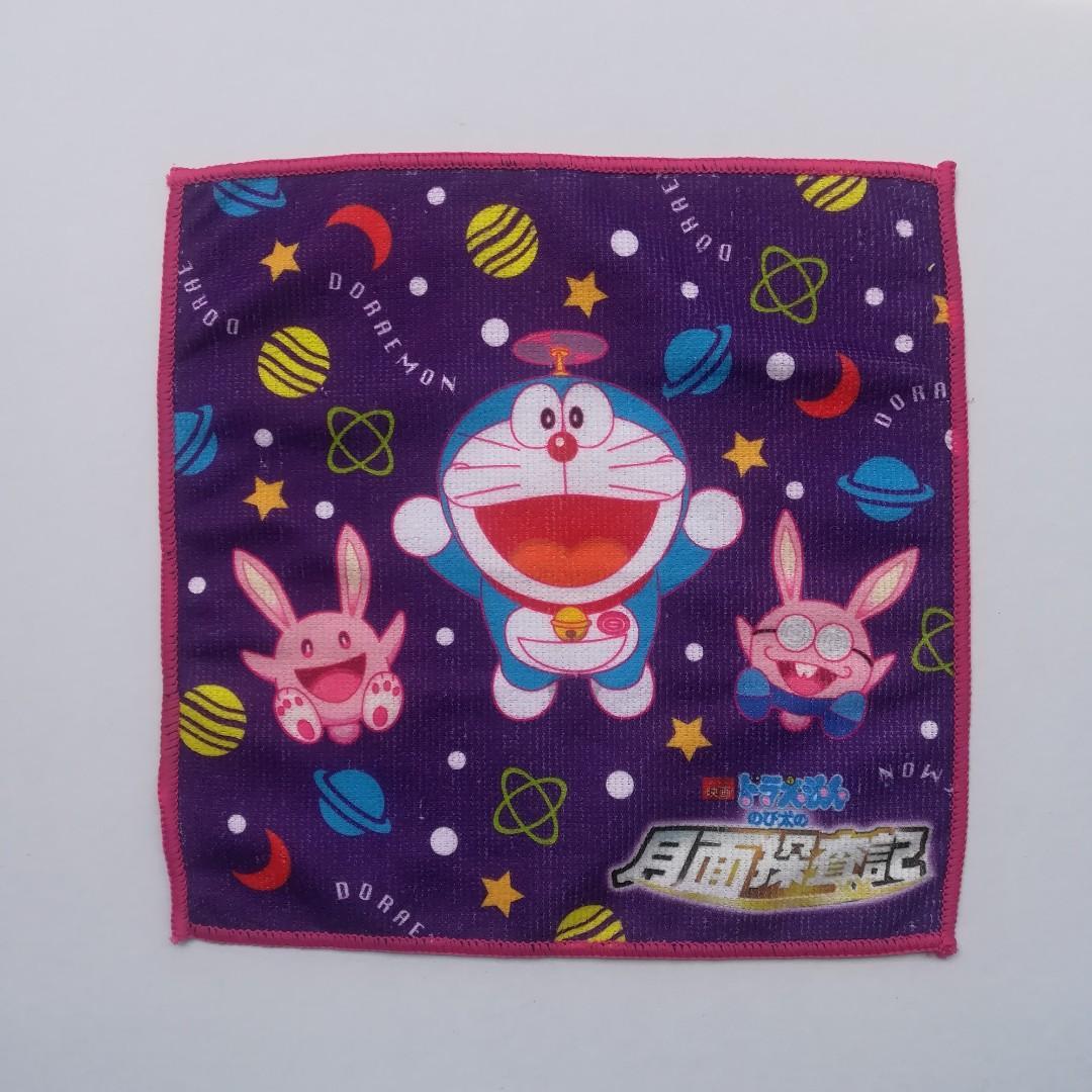 Suntory x Doraemon: Nobita's Chronicle of the Moon Exploration - Microfiber Mini Towel