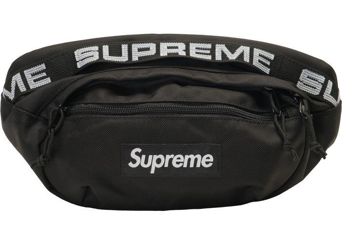 Supreme SS18 Waist Bag (Black) PRICE DROP