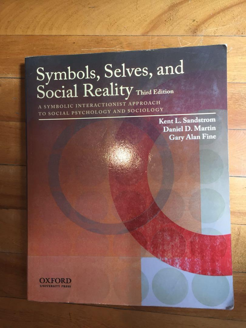 Symbols, selves, and social reality third edition Oxford