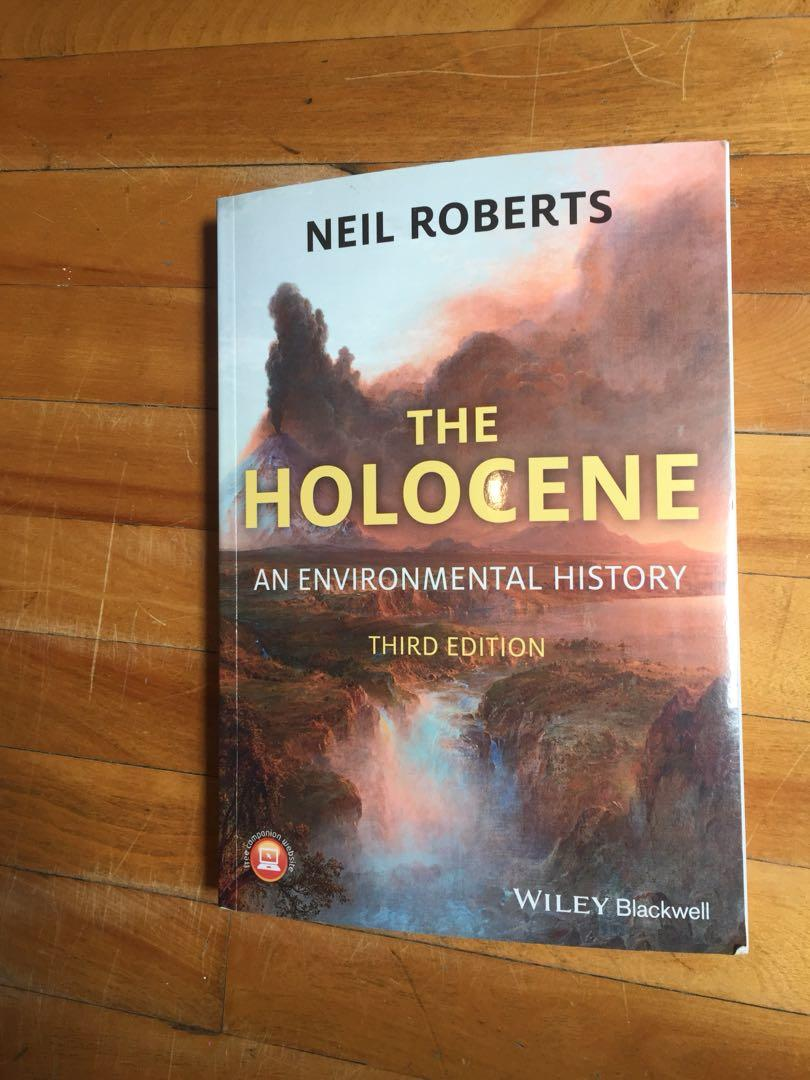 The Holocene am environmental history third edition Wiley