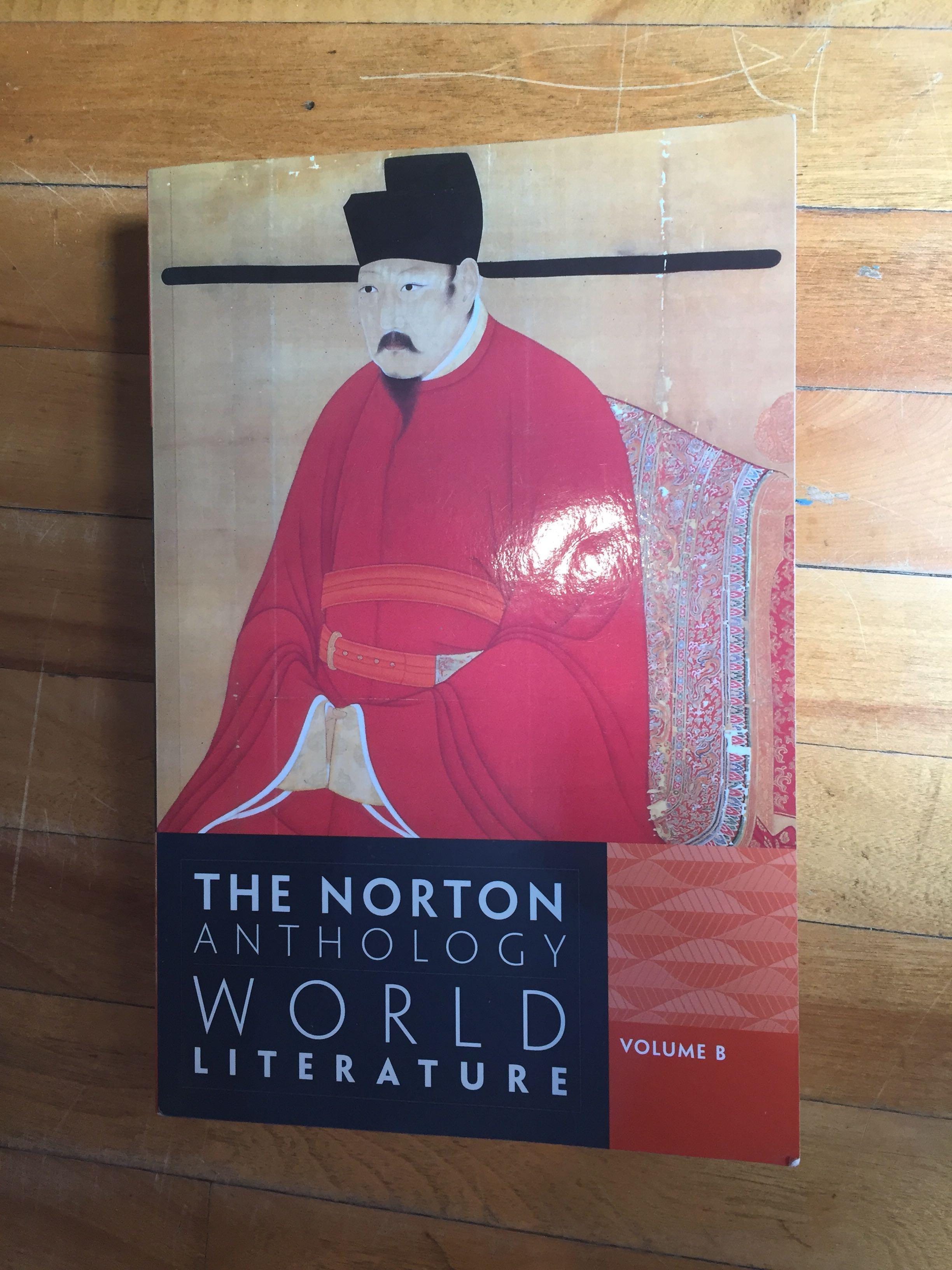 The norton anthology world literature volume B third edition