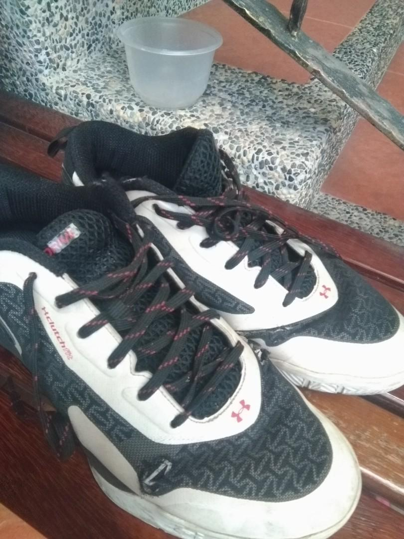 UA under armour clutch fit drive 2 籃球鞋 2手 US10.5
