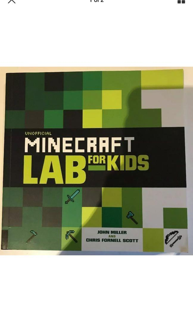 Unofficial Minecraft Lab For Kids - John Miller And Chris Fornell Scott - Book