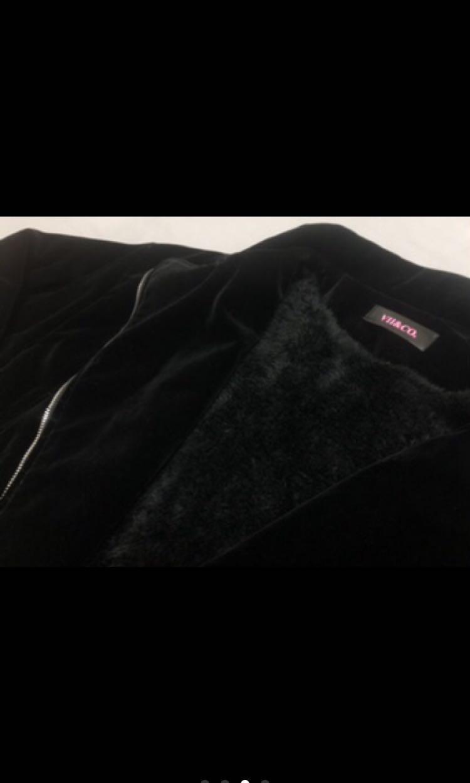 Vil&co絨面內刷毛外套