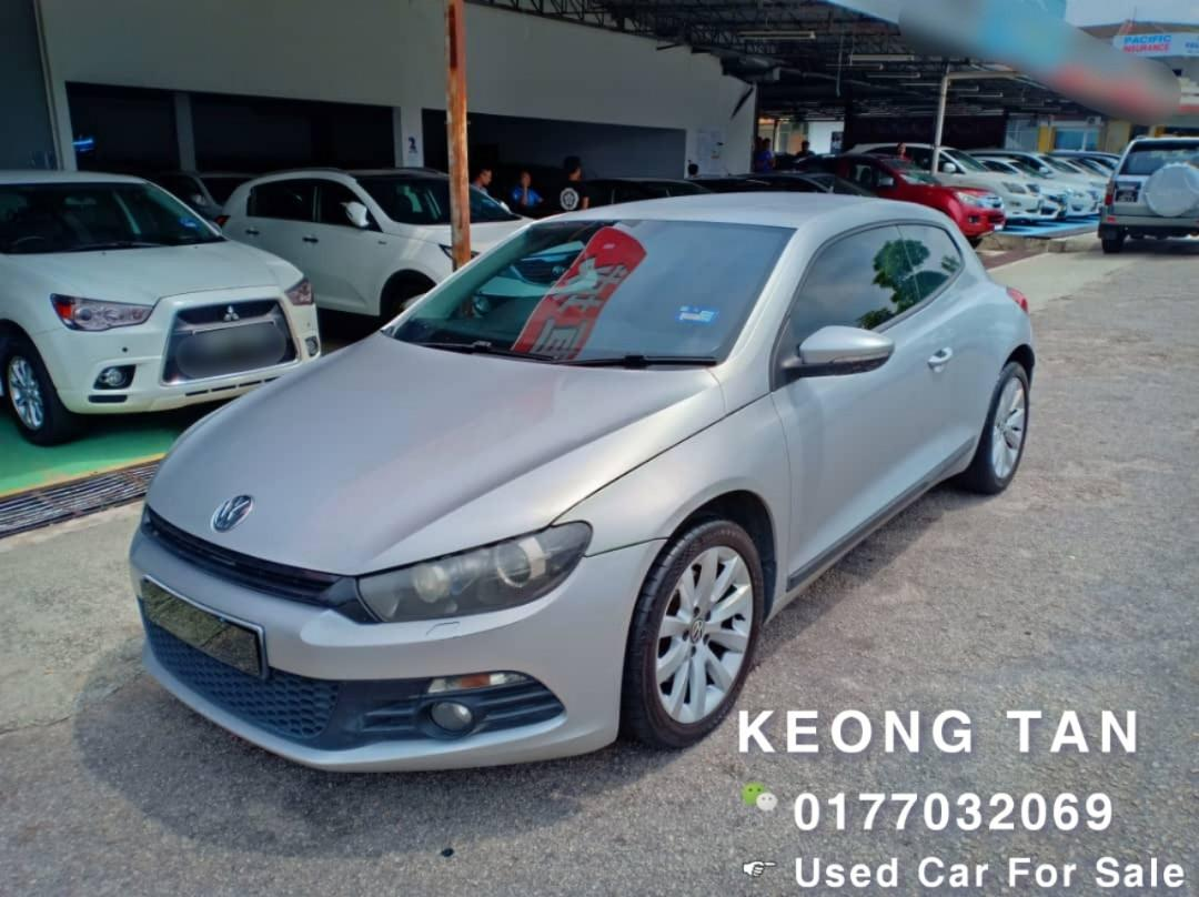 VOLKSWAGEN SCIROCCO 1.4AT TURBO 2011TH MILEAGE 8XXXXKM Cash🎉OfferPrice💲Rm51,500 Only‼JohorPlate🎉LowestPrice InJB‼ Call📲Keong