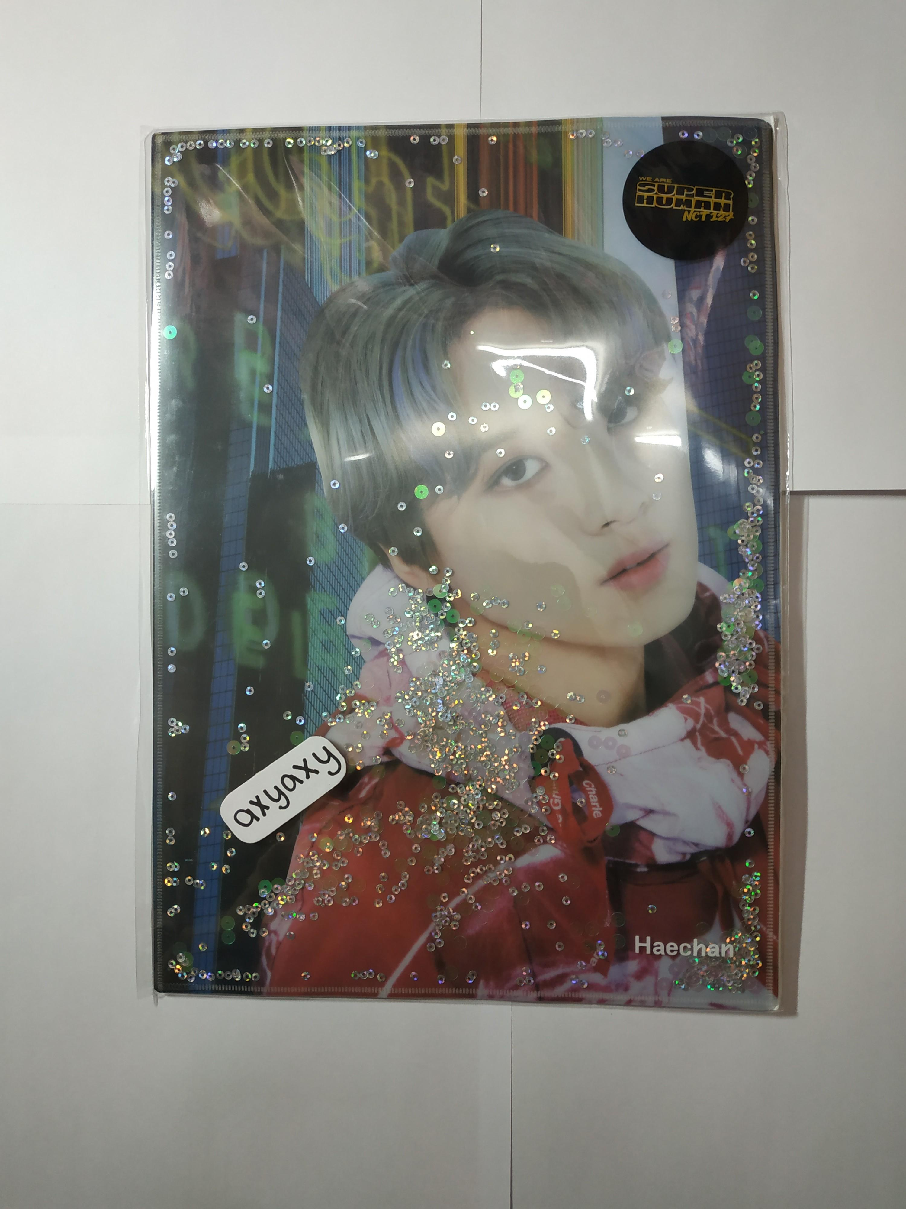 [WTS] NCT 127 We Are Superhuman Official Goods: Glitter Holders B