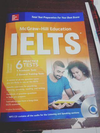 Buku untuk test IELTS