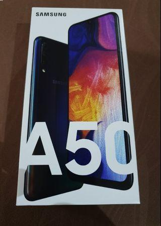 Samsung A50 Local warranty (Sealed) ~ Black/White Color