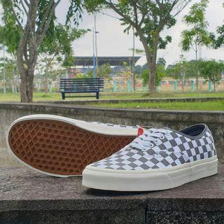 Vans Authentic Pewter Checkerboard