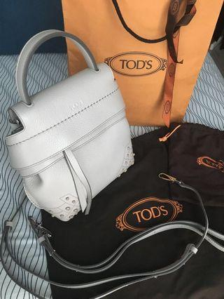 Authentic Tod's wave backpack/sling bag mini - brand new