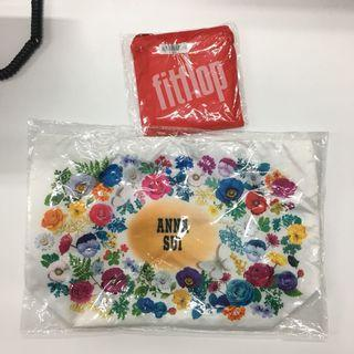 Anna Sui and Fitfloop Portable Pocket Bag
