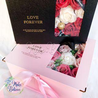 Bloombox Souvenir Hadiah Kado Wisuda Valentine Ultah Cantik FREE Coklat&Kartu Ucapan