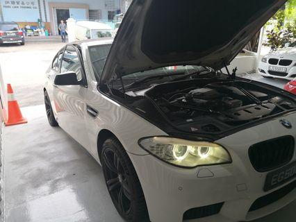 BMW F10 523I Intake exhaust cleaning done!!