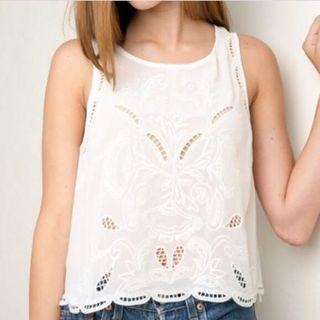 Brandy Melville Thaise Floral Top
