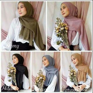 Crinkle hijab Termurah