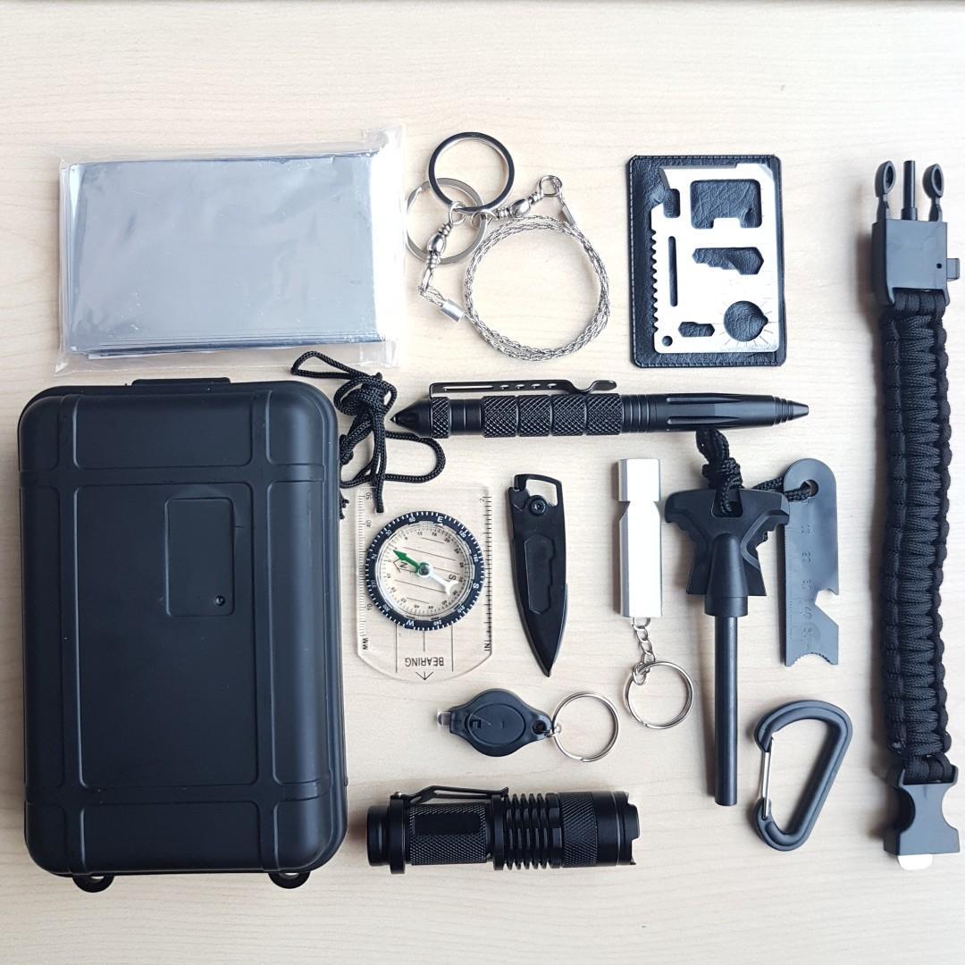 13-in-1 Survival Kit (Re-stocked!)